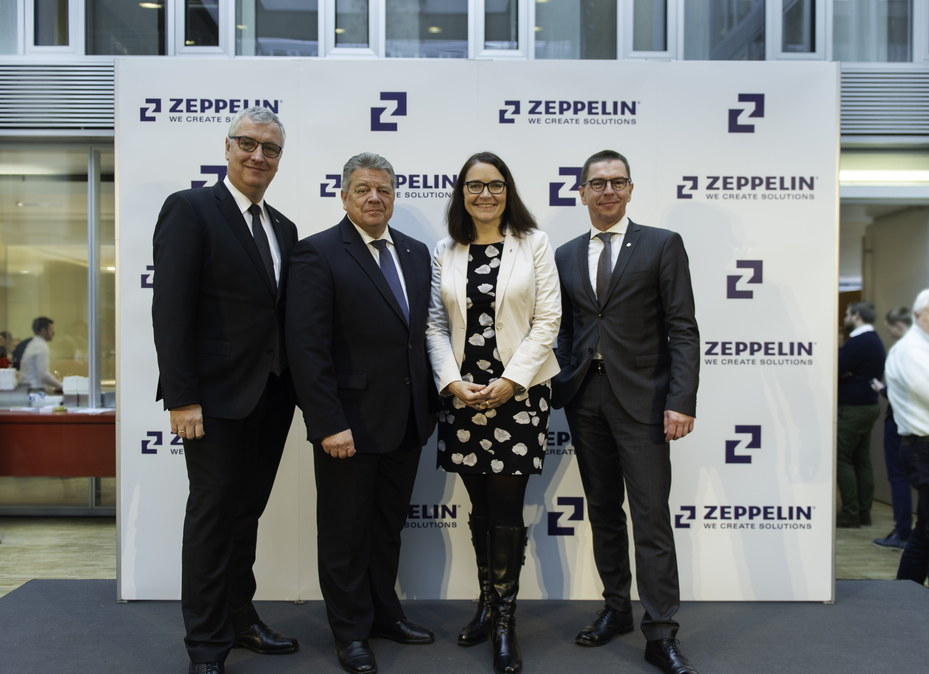 Zeppelin Group Management Board introducing new corporate design